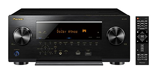 Image for Pioneer Elite SC-LX701 9.2 Channel AV Network Receiver - 760W Total - Wi-Fi - Black