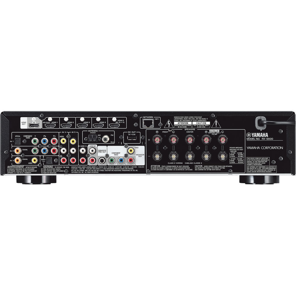 Image for Yamaha RX-S600 5.1-Channel Network AV Receiver