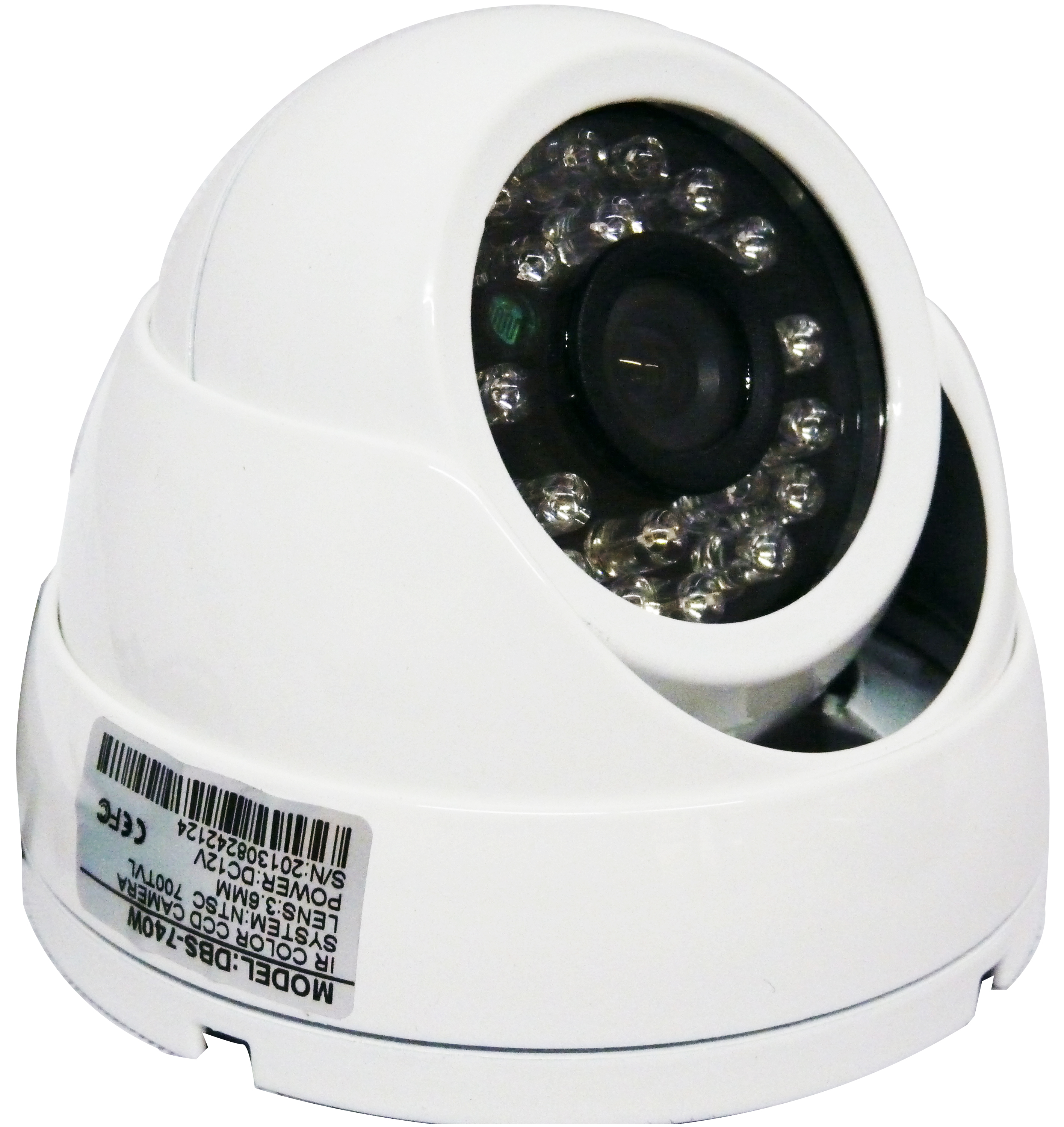 Image for DBS 740W - 700TVL CCTV Dome Security Camera - 1/3'' Sony Super HAD CCD II