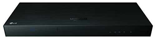 LG Electronics UP970 4K Ultra-HD Blu-ray Player with HDR Compatibility