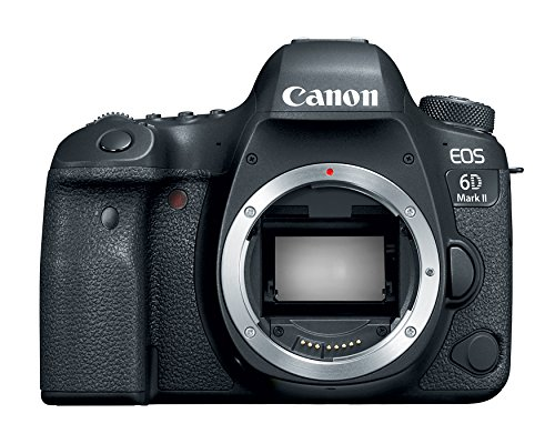 Canon EOS 6D Mark II 26.2MP DSLR Camera - Body Only