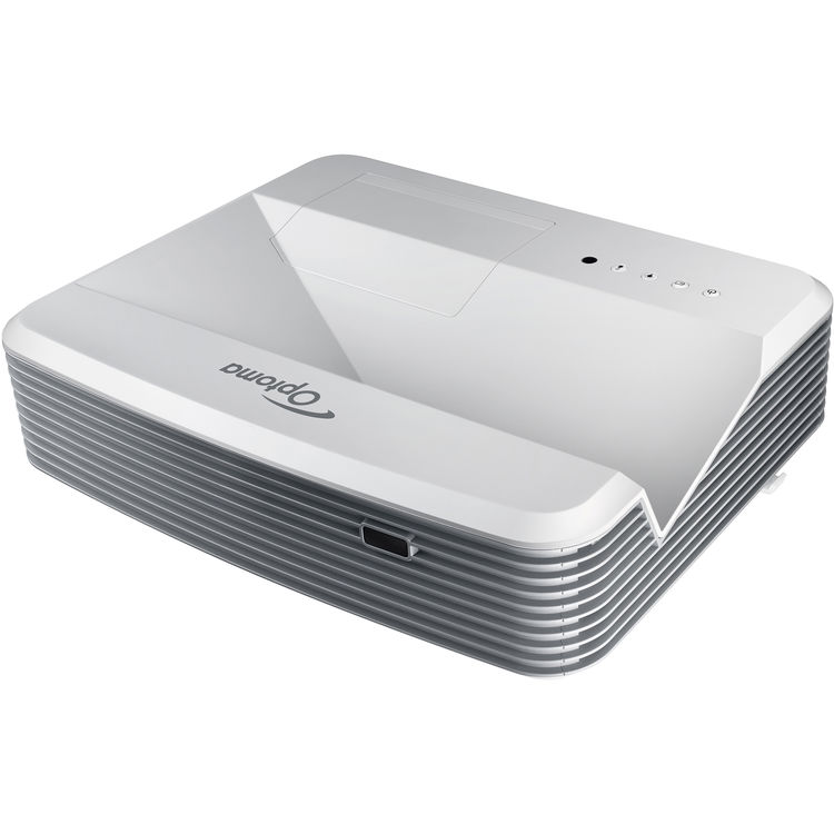 Optoma EH320UST Ultra-Short Throw DLP Projector with Speakers - 4,000 lumens - White