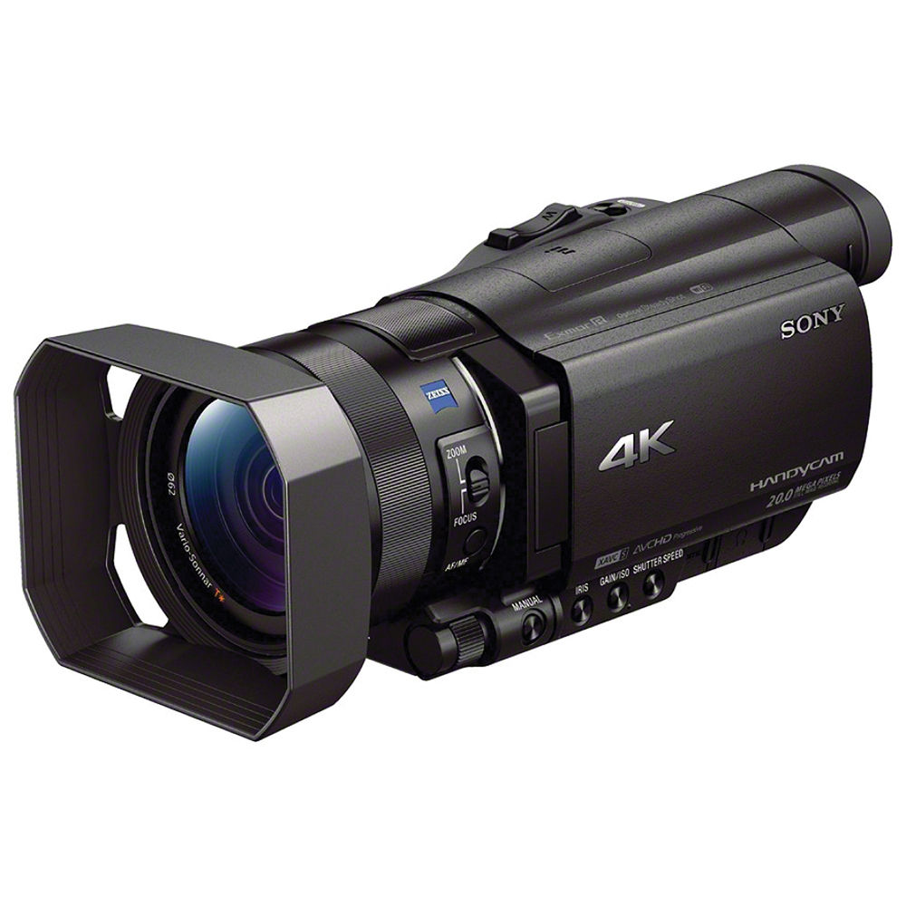 Image for Sony FDR-AX100 4K Ultra HD Camcorder (Black)
