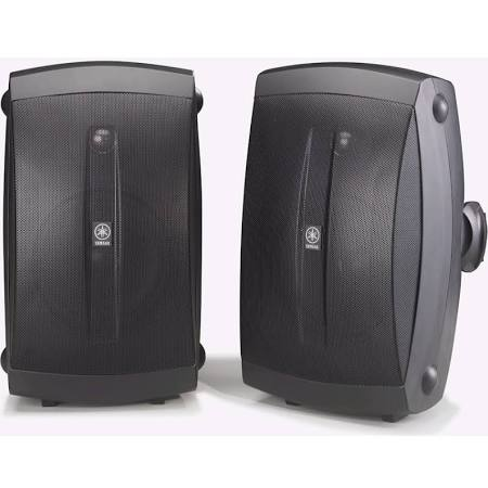 Image for Yamaha NS-AW350B 2-Way Speakers - Black (Pair)