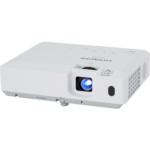 Hitachi CP-WX30LWN 3LCD WXGA Projector w/ Speaker - White