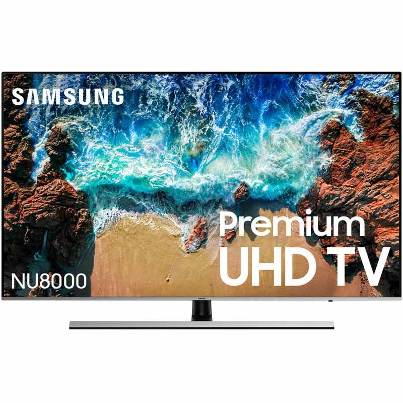 "Samsung UN55NU8000 Flat 55"" 4K UHD Smart LED TV"