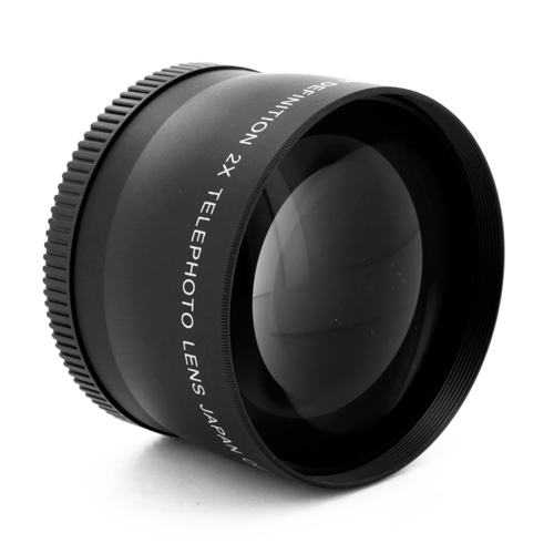 58mm Pro Titanium High Definition 2X Telephoto Lens