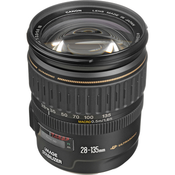 Image for Canon EF 28-135mm f/3.5-5.6 IS USM Standard Zoom Lens