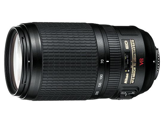 Image for Nikon 70-300mm f/4.5-5.6G ED IF AF-S VR Nikkor Zoom Lens