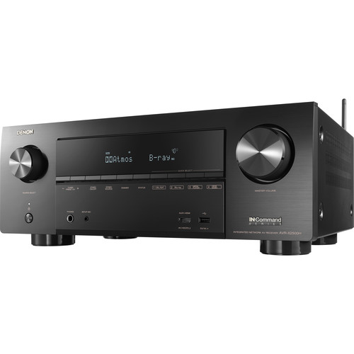 Image for Denon AVR-X2500H 7.2-Channel Network A/V Receiver
