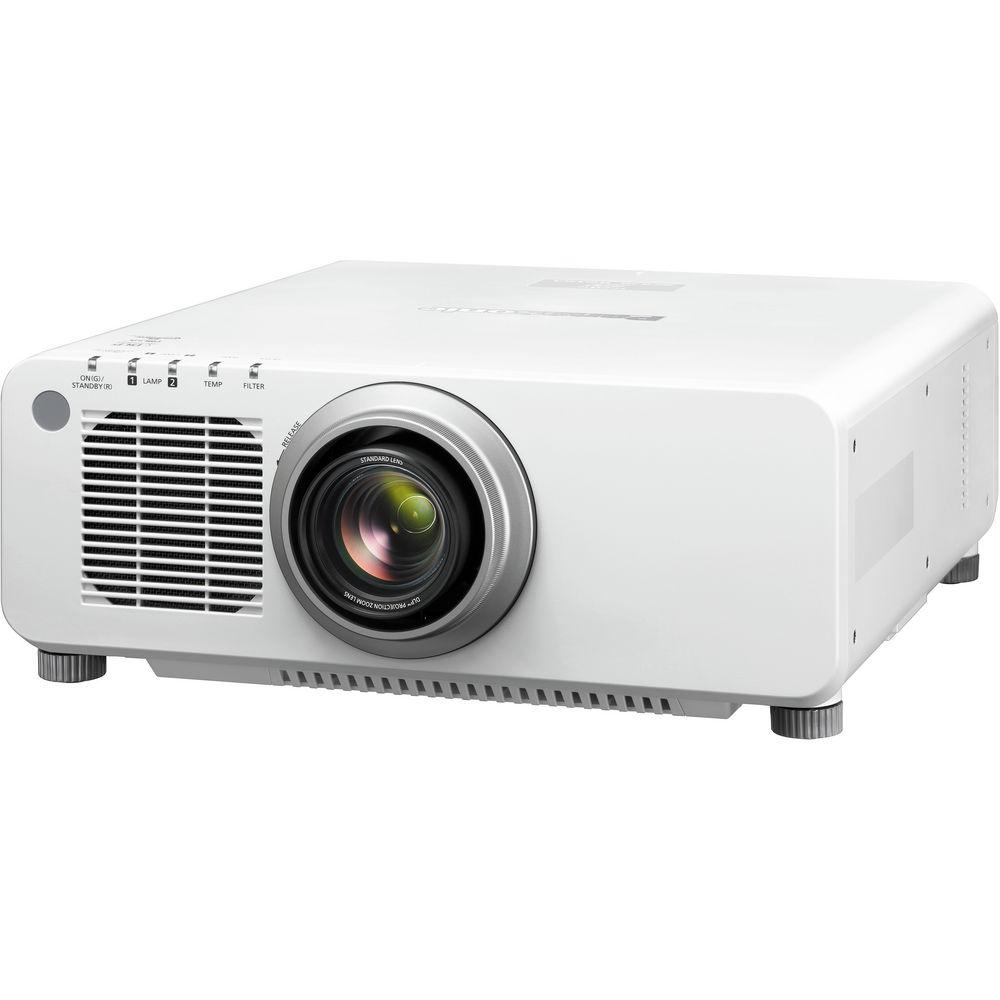 Panasonic PT-DZ870UW 1-Chip 8500 Lumen DLP Projector (White)