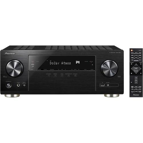 Pioneer VSX-932 7.2 Channel Network AV Receiver- Black