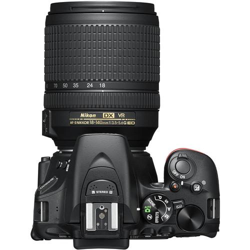 Image for Nikon D5600 DSLR with 18-140mm VR Lens