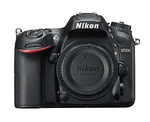 Nikon D7200 24.2MP Digital SLR Camera - Body Only