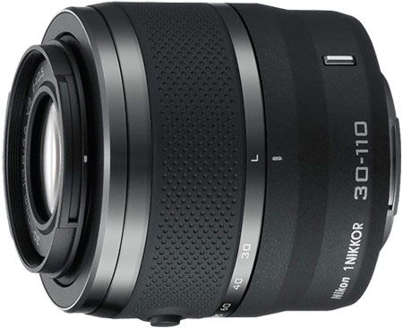 Nikon 1 NIKKOR VR 30-110mm f/3.8-5.6 Lens