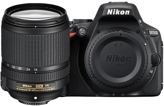 Image for Nikon D5500 24.2MP DSLR Camera With 18-140mm VR Lens