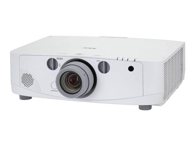 NEC NP-PA550W WXGA (1280 x 800) LCD projector - 5500 ANSI lumens