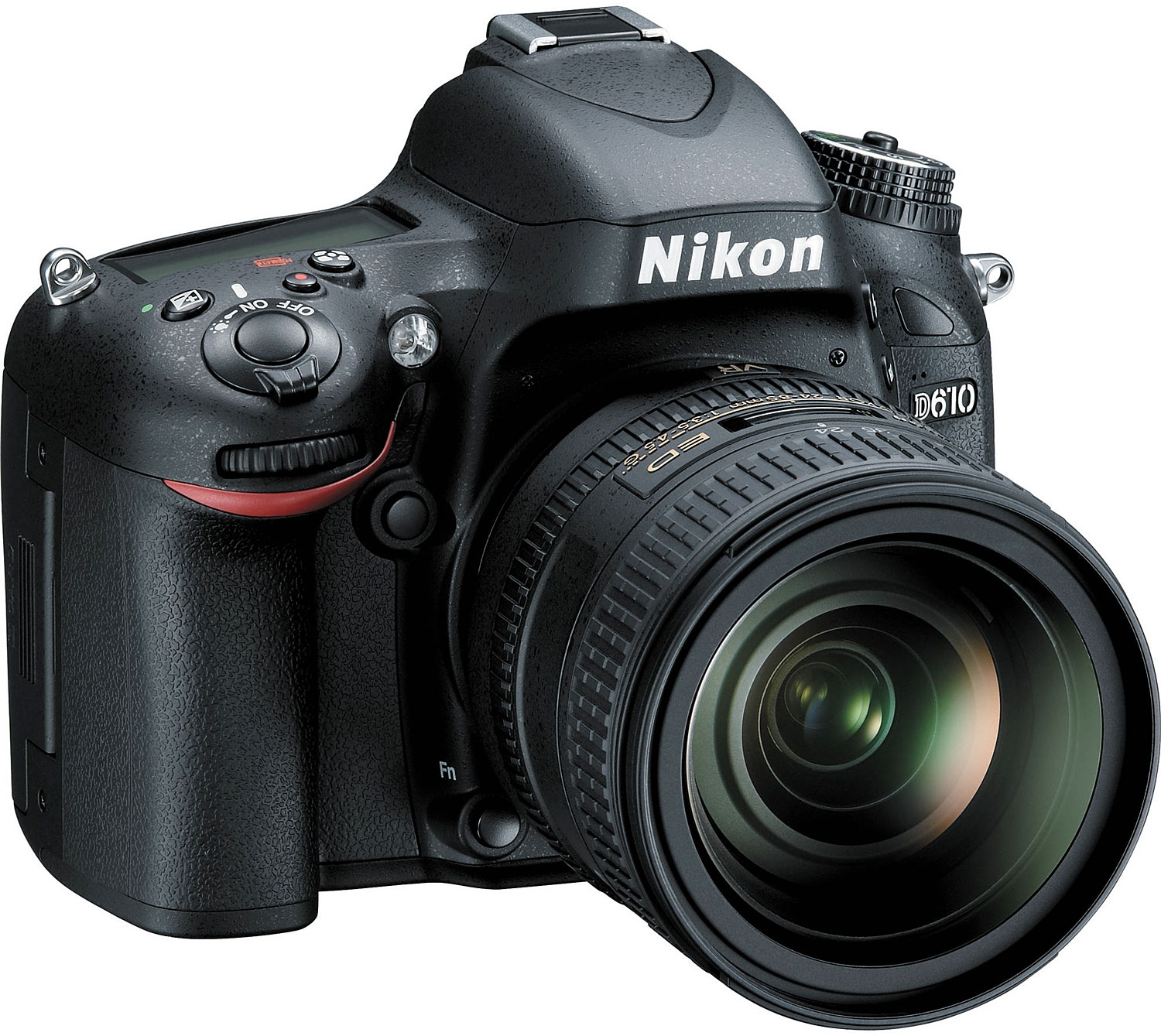 Image for Nikon D610 Digital SLR Camera With 24-85mm VR Lens Kit