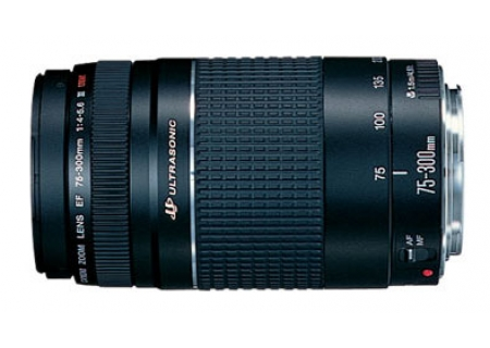 Image for Canon EF 75-300mm f/4-5.6 III USM Lens