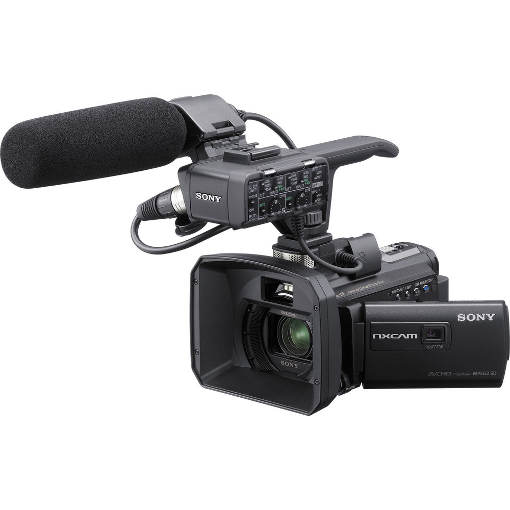 Sony HXR-NX30U NXCAM Palm Sized HD Camcorder