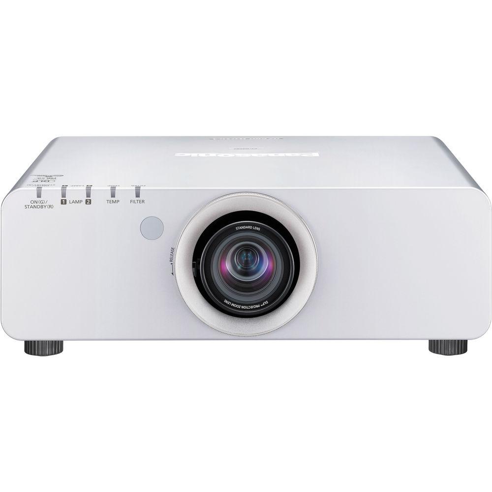 Panasonic PT-DZ680US WUXGA (1920 x 1200) DLP Projector (Silver)