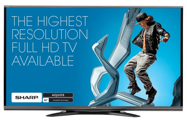 "Sharp AQUOS LC-60SQ15U 60"" 1080P LED 240Hz 3D Smart HDTV"