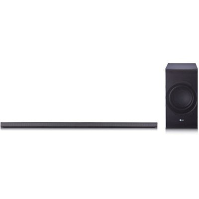 LG Electronics SJ8 4.1 Channel SoundBar w/ Wireless Subwoofer