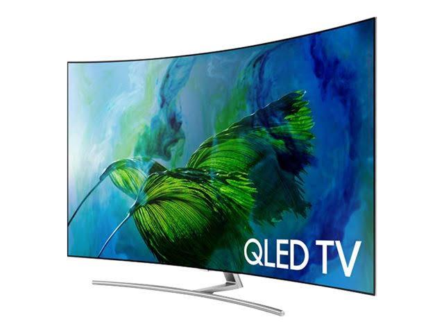 Image for Samsung QN55Q8C 55'' Curved 4K Ultra HD Smart QLED TV