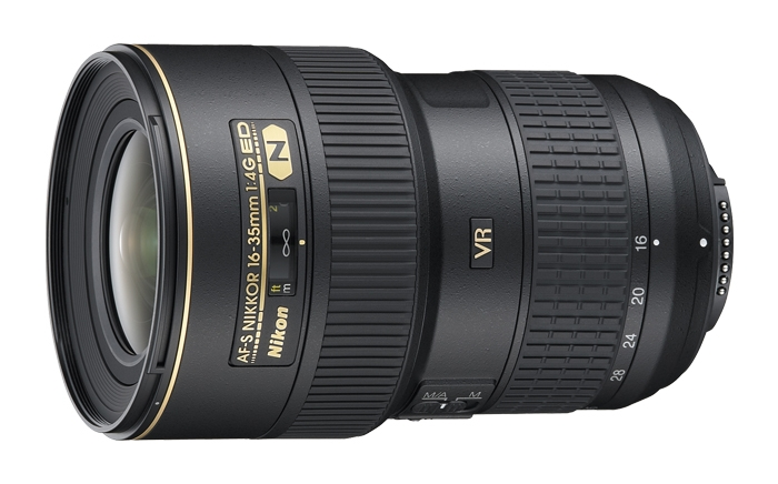 Nikon AF-S NIKKOR 16-35mm f/4G ED VR High Performance Lens