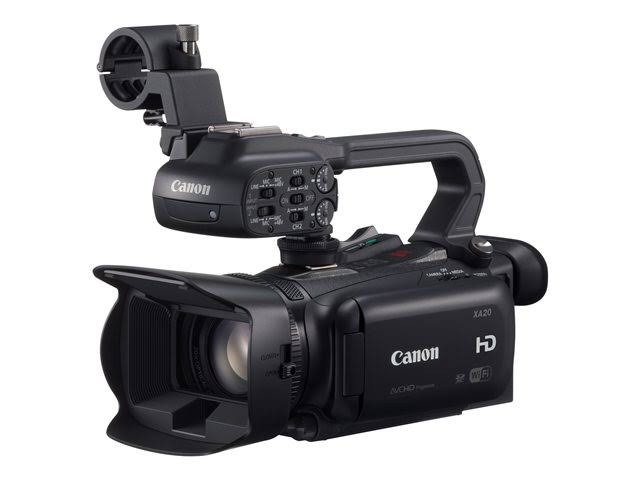 Image for Canon XA20 3.09 MP Camcorder - 1080p