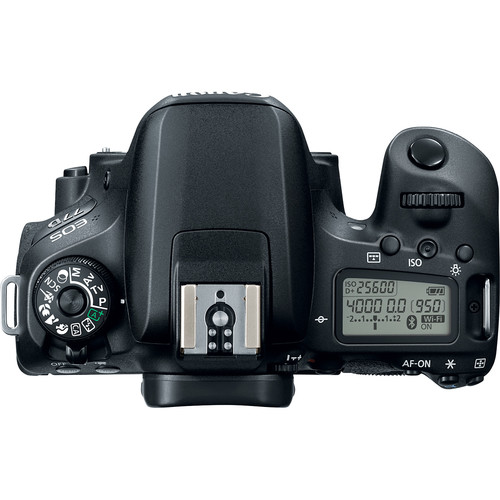 Image for Canon EOS 77D 24.2MP DSLR Camera - Body Only