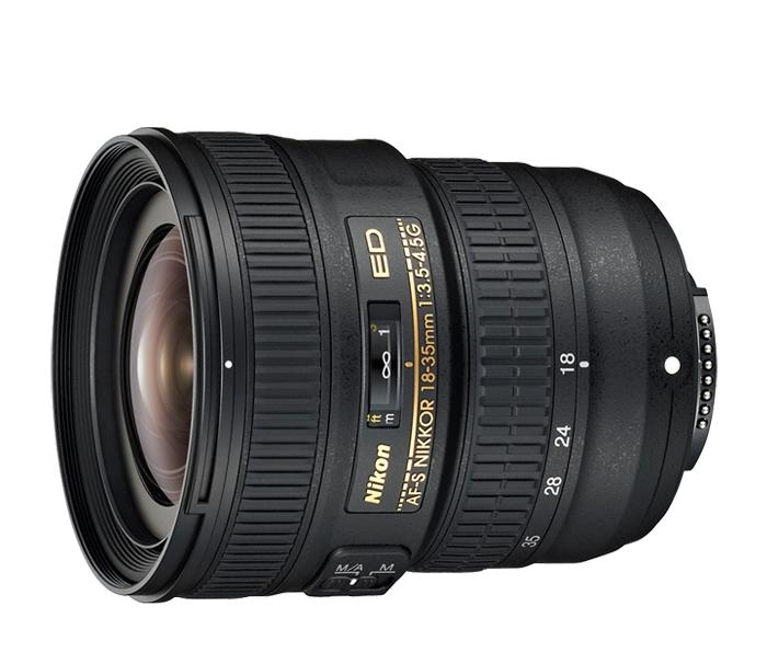 Nikon AF-S NIKKOR 18-35mm f/3.5-4.5G ED Lens