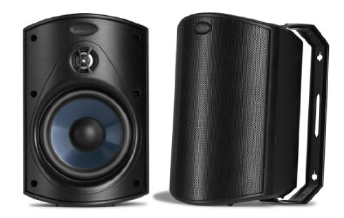 Image for Polk Audio Atrium 4 Outdoor Speakers (Pair, Black)