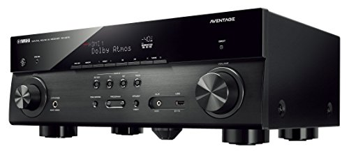 Yamaha AVENTAGE RX-A670BL Audio & Video Component Receiver,Black