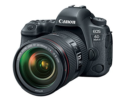 Canon EOS 6D Mark II 26.2MP DSLR Camera with 24-105mm Lens