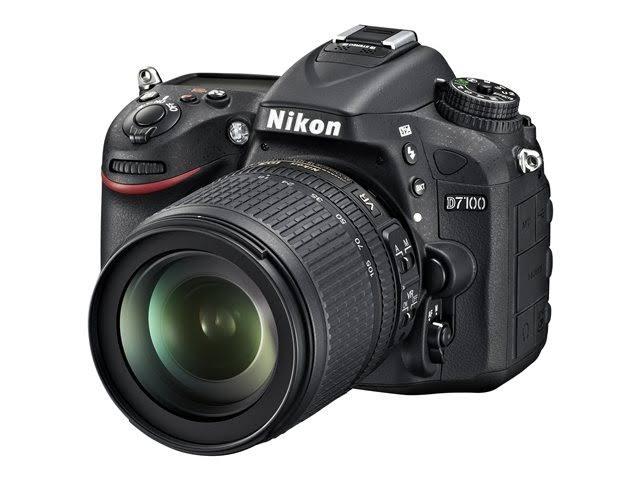 Image for Nikon D7100 24.1MP DSLR Camera with 18-105mm Lens