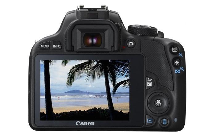 Image for Canon EOS Rebel SL1 Digital SLR Camera - EF-S 18-55mm IS STM lens