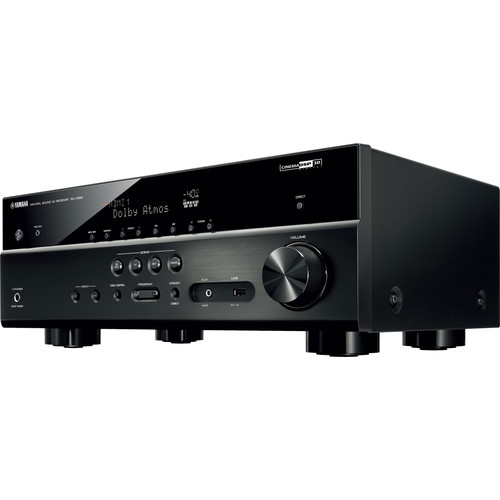 Yamaha RX-V583BL 7.2 Channel AV Network Receiver - Wi-Fi - Black