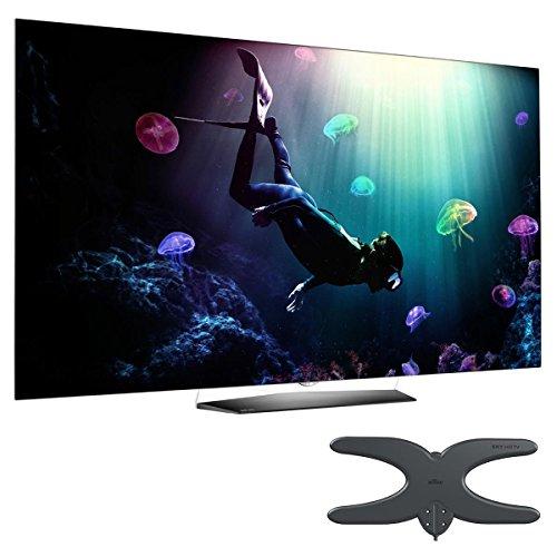 "LG OLED55B6P 55"" 4K UHD OLED Smart TV with Mohu Sky 60 Outdoor Antenna"