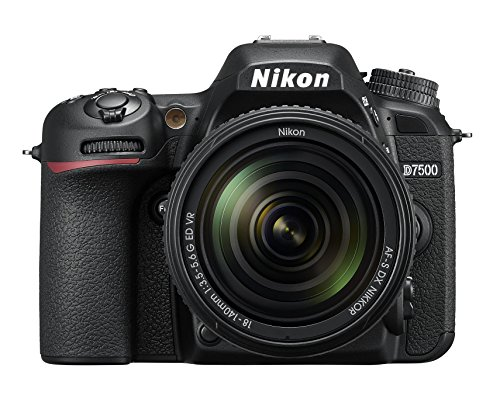 Nikon D7500 20.9MP DSLR Camera with 18-140mm VR Lens