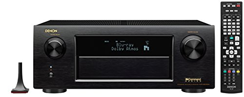 Denon AVRX6200W 9.2 Channel Full 4K Ultra HD AV Receiver with Bluetooth and Wi-Fi