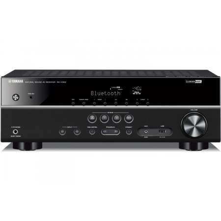 Yamaha RX-V383BL 5.1 Channel Network AV Receiver - Black