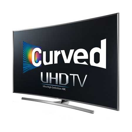 Samsung UN55JU7500 Curved 55'' 4K Ultra HD 3D Smart LED TV