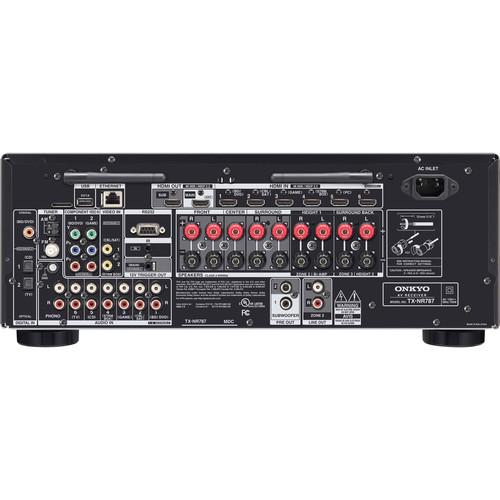 Image for Onkyo TX-NR787 9.2 Channel Network AV Receiver - Black