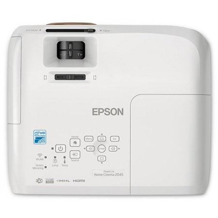 Image for Epson PowerLite Home Cinema 2045 Full HD 3LCD Home Theater Projector