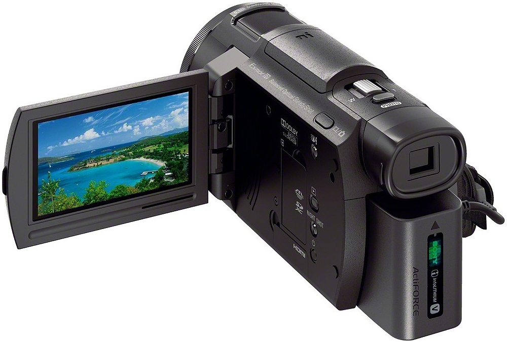 Image for Sony Handycam FDR-AX33 Ultra HD Camcorder - 4K - 18.9 MP - Black