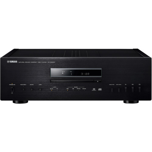 Yamaha CD-S3000 SACD Player - Black/Piano Black