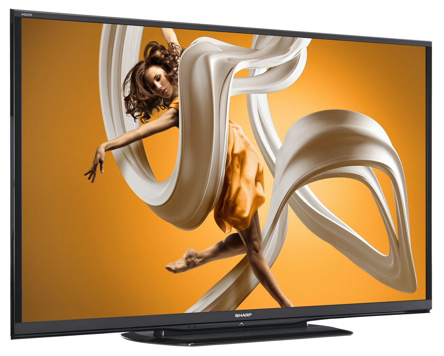 Image for Sharp AQUOS LC-90LE657U 90'' 1080p 120Hz 3D Smart LED HDTV