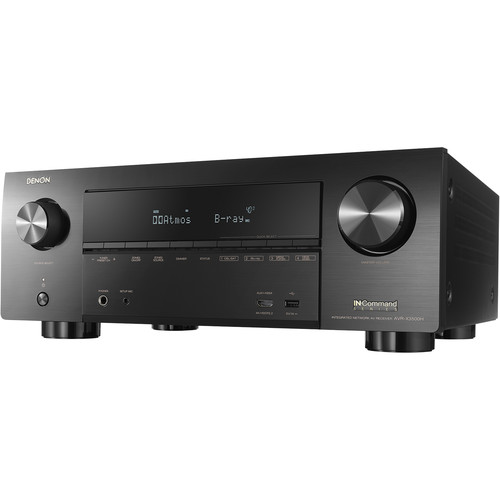 Image for Denon AVR-X3500H 7.2 Channel AV Network Receiver - Black