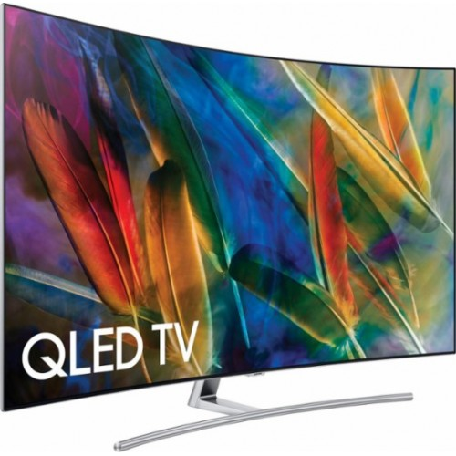 Image for Samsung QN55Q7C 55'' Curved 4K Ultra HD Smart QLED TV